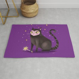 cute witch's familiar Rug