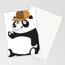 Cartoon Panda Animal Stationery Cards