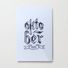 German Festival Season Metal Print