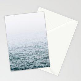 Foggy ocean blues Stationery Cards