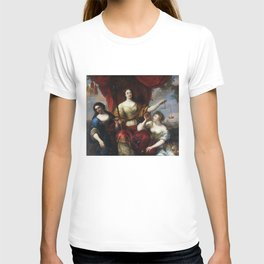 Justice (or Prudence, Justice, and Peace) T-shirt