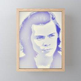 H/\rry Styles Framed Mini Art Print