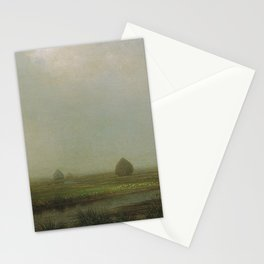 Jersey Marshes 1874 By Martin Johnson Heade | Reproduction Stationery Cards