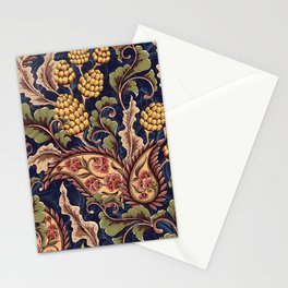 Beautiful Victorian Vintage Floral Pattern Stationery Cards