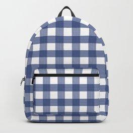 Blue Buffalo Check Backpack