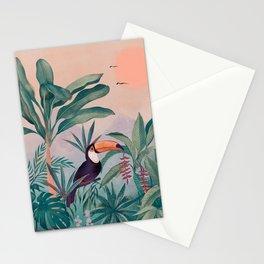 Jungle Paradise Stationery Cards