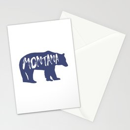 Montana Bear Stationery Cards