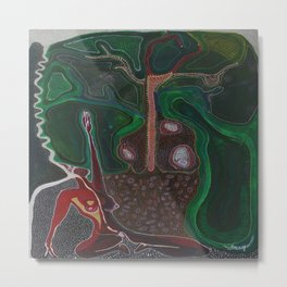 Honouring the Tree Spirits  Metal Print
