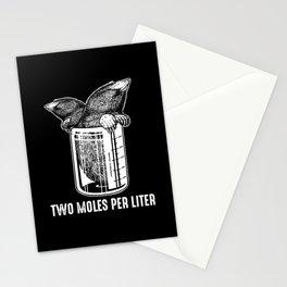 Funny Mole I Garden |Gardener I Saying Stationery Cards
