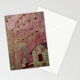 Autumn Scene - Apple Picking Stationery Cards