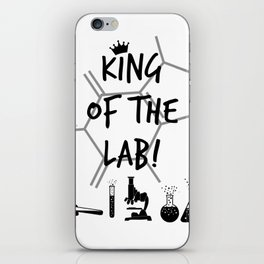 King of The Lab iPhone Skin