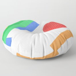 Break Floor Pillow