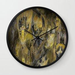 Maraca Promenade Wall Clock
