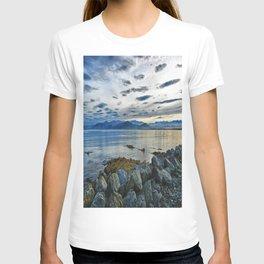 Dusk over South Bay, New Zealand T-shirt