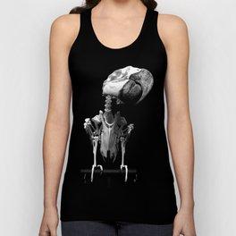 Hyacinth Macaw Skeleton Unisex Tank Top