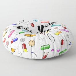 Take Your Meds II Floor Pillow