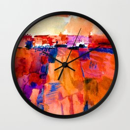 Paul Klee Kairouan Wall Clock