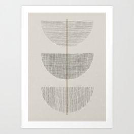 Geometric Composition III Art Print