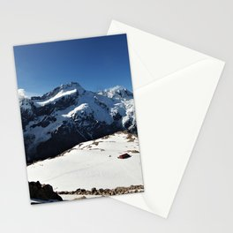 Mueller Hut from Mt. Oliver Stationery Cards