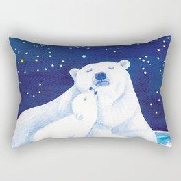 Polar bears, arctic animals Rectangular Pillow