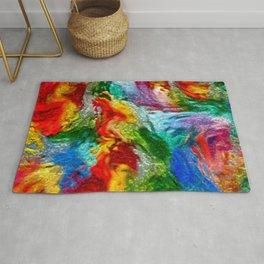 Magic Carpet Ride Abstract Rug