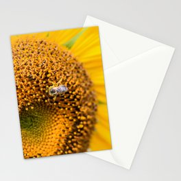 Sunflower Bee Stationery Cards