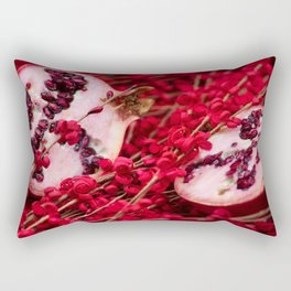 """Fruit Fever"" Rectangular Pillow"