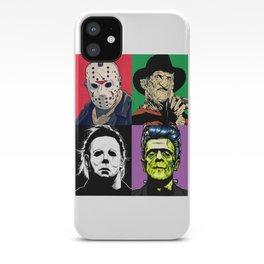 Horror Pop Art iPhone Case