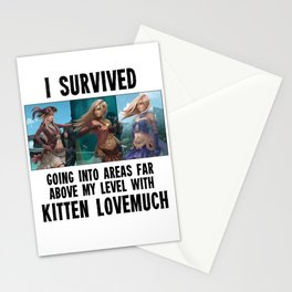 I survived - Second Age of Retha by AM Sohma Stationery Cards