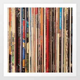 Alt Country Rock Records Kunstdrucke
