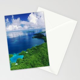 WOW!!! PALAU!! Tropical Island Hideaway Stationery Cards