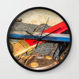 Roman Sword, Armor Wall Clock