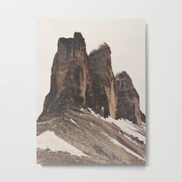 Three Rocks Metal Print