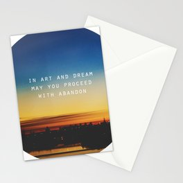 In Art and Dream Stationery Cards