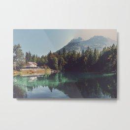 Blausee lake Metal Print