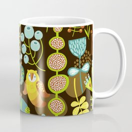 5BF1 Scandinavian Birds Coffee Mug