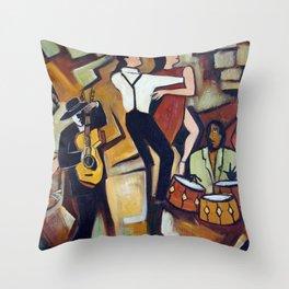 Suenos de Tango Throw Pillow