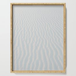 White Sand Patterns of the Gulf Coast Serving Tray
