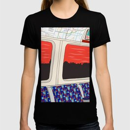 View from London Train Line T-shirt