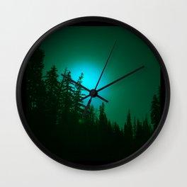 Peeping Luna Wall Clock