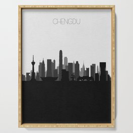 City Skylines: Chengdu Serving Tray