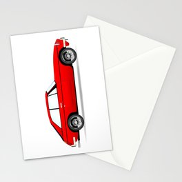 Sports Car Coupe Stationery Cards