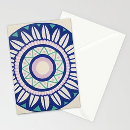 The Pink and Blue Mandala Stationery Cards