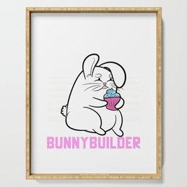 Bulking Bunnybuilder Serving Tray