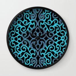 celtic blue Wall Clock