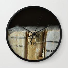 Libros de Pío Baroja Wall Clock