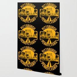 Pittsburgh Pennsylvania Steel City Skyline Bridge 412 Home Pride Wallpaper