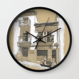 A House in Ronda, Spain Wall Clock