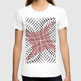 black white red 2 T-shirt