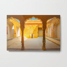 Amber Palace in Jaipur Metal Print